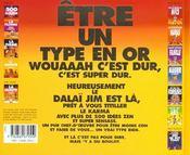 Jim t.14 ; 500 idées pour être un type en or - 4ème de couverture - Format classique