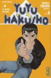 Yuyu hakusho t.6 - Couverture - Format classique