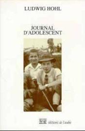 Journal D'Adolescent - Couverture - Format classique