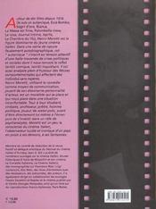 Nanni moretti - 4ème de couverture - Format classique