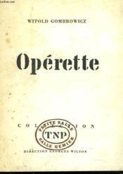 Operette - Couverture - Format classique