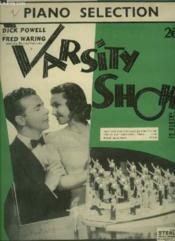Varsity Show - Piano. - Couverture - Format classique