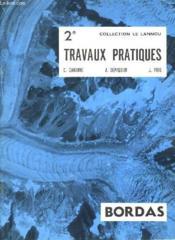 CAHIER DE TRAVAUX PRATIQUES - CLASSE DE 2e - Couverture - Format classique