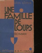 Une Famille De Loups - Couverture - Format classique