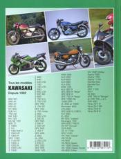 Kawasaki Tous Les Modeles Depuis 1965 - 4ème de couverture - Format classique