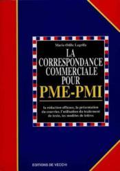 La Nouvelle Correspondance Pour Pme Et Pmi - Couverture - Format classique