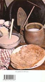 Gastronomie bretonne - 4ème de couverture - Format classique