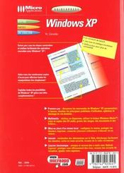 Guide Express Windows Xp - 4ème de couverture - Format classique