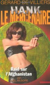 Hank Le Mercenaire T.6 ; Raid Sur L'Afghanistan - Couverture - Format classique
