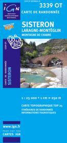 Sisteron ; Laragne ; Monteglin ; 3339 OT - Couverture - Format classique