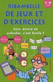 Ribambelle de jeux et d'exercices ; écrire et calculer - Couverture - Format classique