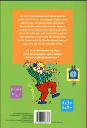 Ribambelle de jeux et d'exercices ; écrire et calculer - 4ème de couverture - Format classique