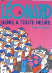 Genie A Toute Heure - Couverture - Format classique