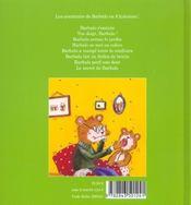 Barbalo n'a pas toujours une vie facile - 4ème de couverture - Format classique