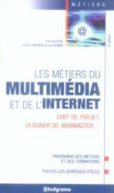 Les métiers du multimedia et de l'internet - Couverture - Format classique