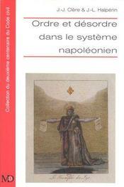 Ordre Et Desordre Dans Le Systeme Napoleonien - Intérieur - Format classique