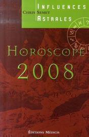 Horoscope (edition 2008) - Intérieur - Format classique