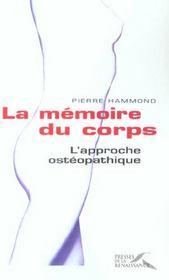 La Memoire Du Corps, L'Approche Osteopathique - Intérieur - Format classique