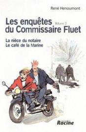Enquêtes du commissaire Fluet t.3 - Couverture - Format classique