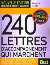240 Lettres D'Accompagnement Qui Marchent - Couverture - Format classique