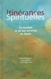 Itinerances spirituelles - Intérieur - Format classique