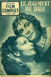 Tous Les Jeudis - Film Complet N° 345 - Le Jugement De Dieu - Couverture - Format classique