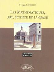 Les Mathematiques Art Science Et Langage No22 - Intérieur - Format classique