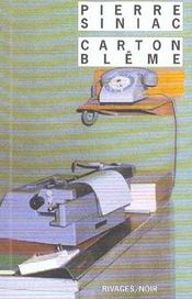 Carton Bleme - Intérieur - Format classique