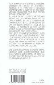 Carton Bleme - 4ème de couverture - Format classique