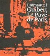 Le pavé de paris - Couverture - Format classique