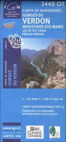 Gorges du Verdon ; Moustiers ; Ste.-Marie ; lac de Ste-Croix ; PNR du Verdon ; 3442 OT - Intérieur - Format classique
