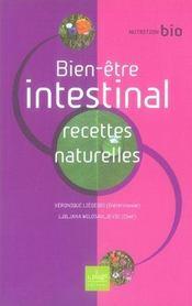 Bien-être intestinal, recettes naturelles - Intérieur - Format classique