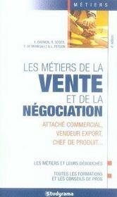 Les métiers de la vente et de la négociation - Intérieur - Format classique