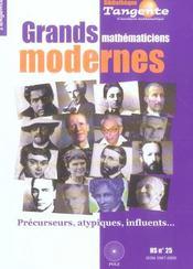 Grands Mathematiciens Modernes - Intérieur - Format classique