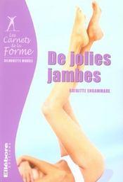 Jolies Jambes - Carnets De La Forme - Intérieur - Format classique