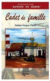 Cadet de famille - Couverture - Format classique