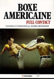 Boxe Americaine - Couverture - Format classique