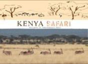 Kenya tanzanie ; safari : mode d'emploi - Couverture - Format classique