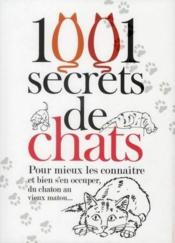 1001 secrets de chats  - Isabelle Collin