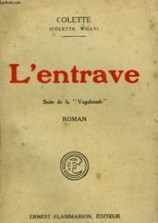 L'Entrave Suivi De La Vagabonde. - Couverture - Format classique