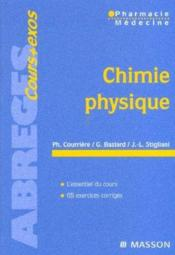 Chimie physique  - Philippe Courriere