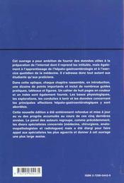 Hepato-Gastro-Enterologie Nouvelle Edition Refondue Et Mise A Jour - 4ème de couverture - Format classique