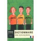 Dictionnaire des synonymes - Couverture - Format classique