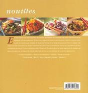 Nouilles - 4ème de couverture - Format classique