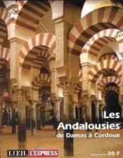 Les Andalousies De Damas A Corfou - Couverture - Format classique
