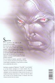Supreme t.1 ; l'age d'or - 4ème de couverture - Format classique