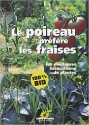 Poireau Prefere Les Fraises (Le) - Couverture - Format classique
