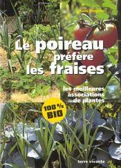 Poireau Prefere Les Fraises (Le) - Intérieur - Format classique