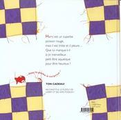 Harry Le Poisson Qui Pleure - 4ème de couverture - Format classique