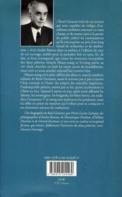 Sur les traces du Bouddha - 4ème de couverture - Format classique